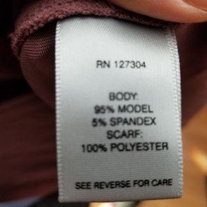 d6a5d3a6b7f John Mark Tops - John Mark 3/4 sleeve lavender tunic top size L